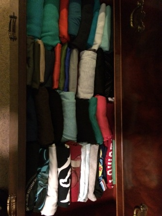 My T-shirts and tank tops
